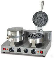 Вафельница для толстых вафель Ankemoller HWB-2