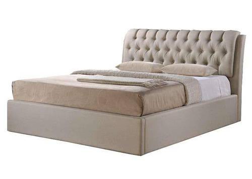 Ліжко Кемерон двоспальне (брокард) Domini