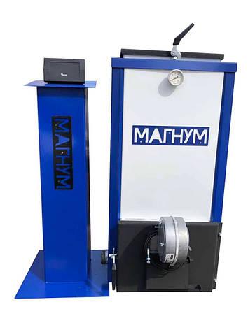 Котел Холмова Магнум мощностью 20 квт с блоком управления и турбиной, фото 2