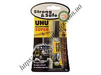 """Клей """"UHU"""" Strong&Safe суперпрочный (7g) (UHU Strong&Safe)"""