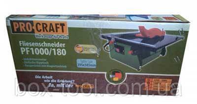Плиткорез ProCraft PF 1000/180, фото 2