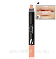 Губная помада-карандаш Matte Lipstick Crayon Тон №25