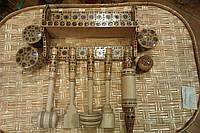 Дерев'яний столовий набір, ручна робота
