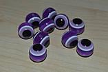 Бусины от сглаза. глаза для игрушек.12 мм. , фото 3