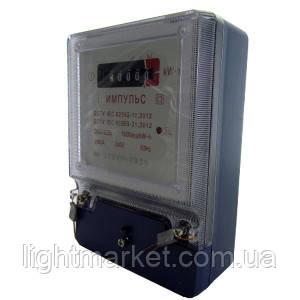 Счетчики 1ф 220В (5-60а) Импульс Электронный механическое табло, фото 2