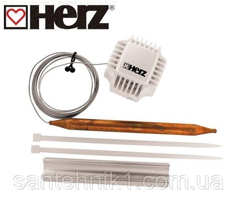 Термостатическая головка HERZ с накладным датчиком 20–50°С,М 30х1,5 , фото 2