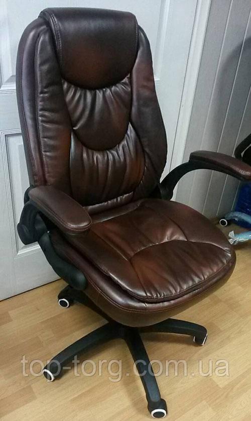 Кресло офисное, компьютерное Oskar brown, коричневое
