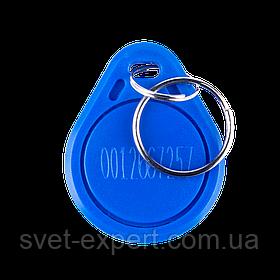 Ключ безконтактний Green Vision GV-RFID-001 blue (1уп-25шт)