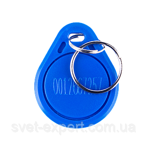 Ключ безконтактний Green Vision GV-RFID-001 blue (1уп-25шт), фото 2