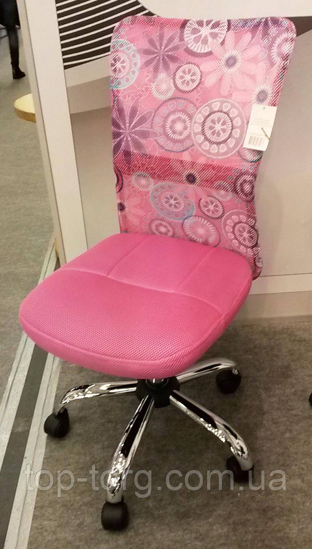 Крісло дитяче комп'ютерне BLOSSOM pink