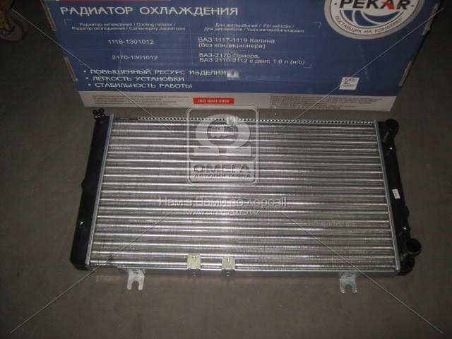 Радиатор водяного охлаждения ВАЗ 1118 КАЛИНА (пр-во ПЕКАР). 1118-1301012. Цена с НДС.
