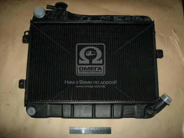 Радиатор водяного охлаждения ВАЗ 2107 (2-х рядн.) (пр-во г.Оренбург). 2107-1301.012-60. Цена с НДС.