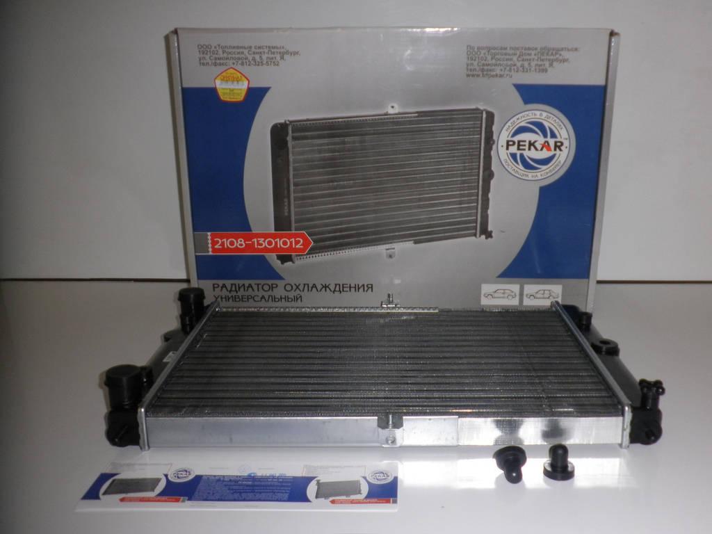 Радиатор водяного охлаждения ВАЗ 2108,-09,-099 (пр-во ПЕКАР). 2108-1301012. Цена с НДС.