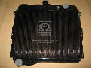 Радиатор водяного охлаждения ГАЗ 24 (2-х рядн.) (пр-во ШААЗ) АКЦИЯ. 24-1301010-01. Цена с НДС.