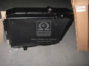 Радиатор водяного охлаждения ГАЗ 3307 (3-х рядн.) медн. (TEMPEST). 3307-1301010-70С. Ціна з ПДВ.