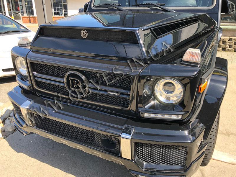 Накладка на капот Mercedes G-class W463 стиль Brabus G900