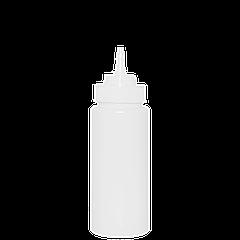 Бутылка для майонеза 480мл с носиком, белая