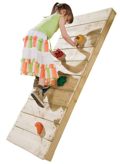 Скалодром дитячий великий, набір зацепів для скалодрому 5 шт розмір L