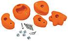 Скалодром дитячий великий, набір зацепів для скалодрому 5 шт розмір L, фото 4