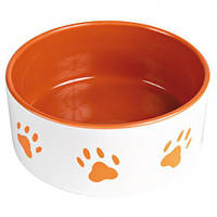 Трикси Trixie керамическая миска для собак объем 1,4 л