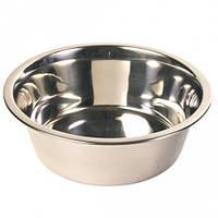 Металлическа миска для собак Trixie Трикси 24841 объем 0,45 л 12 см