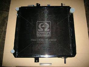 Радиатор водяного охлаждения КРАЗ (4-х рядн.) (пр-во ШААЗ). 6437-1301010-10. Ціна з ПДВ.