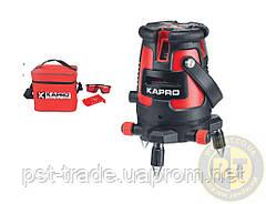 KAPRO Уровень лазерный 875kr (В комплекте с очками, мишенью, мягкой сумкой) KAPRO