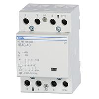 Контактор модульный Doepke HS 40-40 (24 В) 3 мод., 40 А, контакти: 4 NO, dp09980413