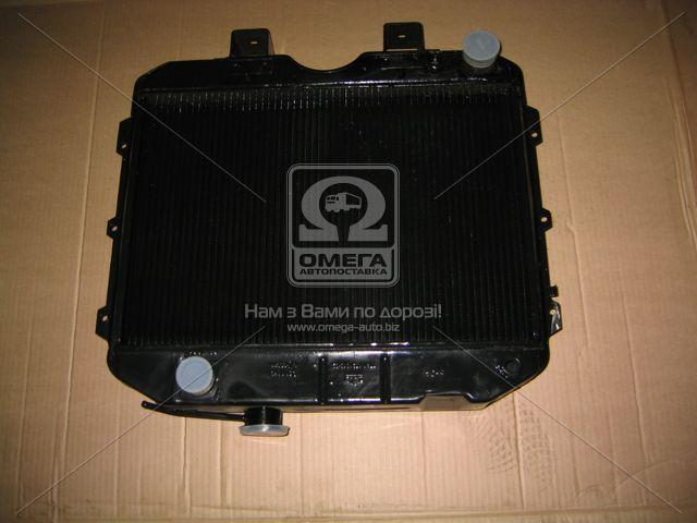 Радіатор водяного охолодження УАЗ (2-х рядн.) (пр-во ШААЗ). 3741Ш-1301010-05. Ціна з ПДВ.