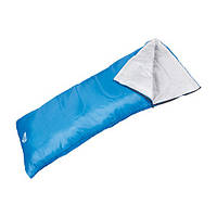 Спальный мешок туристический 180*75 см ( спальник синий )