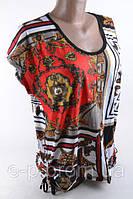 Женская туника Супер Батал, хорошее качество, модные расцветки Цвет ― Как на фото Размер - 2XL (48-50), 3XL (5