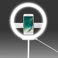 Кольцевой свет для смартфона Yongnuo YN-128 (White) (YN128) (3200-5500K)