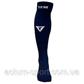 Гетры футбольные Titar темно/синий