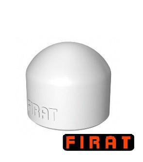 Заглушка ППР Firat 25 мм белая