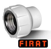 Муфта с РВ 20-3/4 Firat (белый цвет)