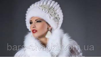 Меховые шапки из норки для женщин