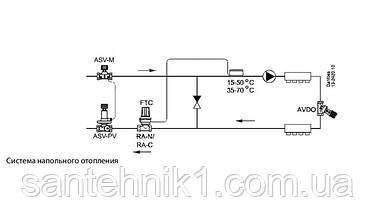 Термостатическая головка Danfoss FTC 013G5081 с накладным датчиком 15-50С, фото 2