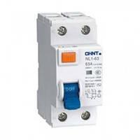 УЗО NL1-63 6kA 2P 25A 30mA тип AC (DB) (CHINT)