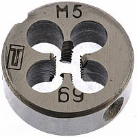 Плашка М5 х 0,5 мм Сибртех 77010