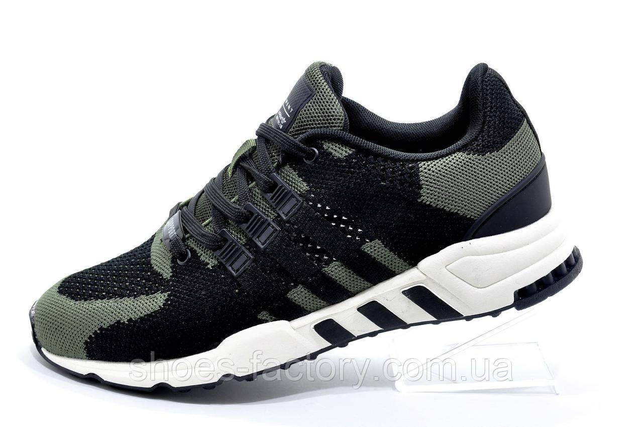 Бігові кросівки стилі Adidas Equipment Torsion, White\Black\Green