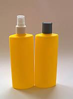 Бутылка пластмассовая для шампуня 250 мл.Тара для косметических средств