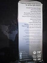 Doc Johnson - Platinum the Delight - анальная вибро пробка с пультом 16 см черный 10 функций вибрацииАнальный , фото 3