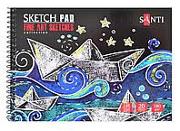 Альбом для эскизов А5 Fine art sketches, 20 л.