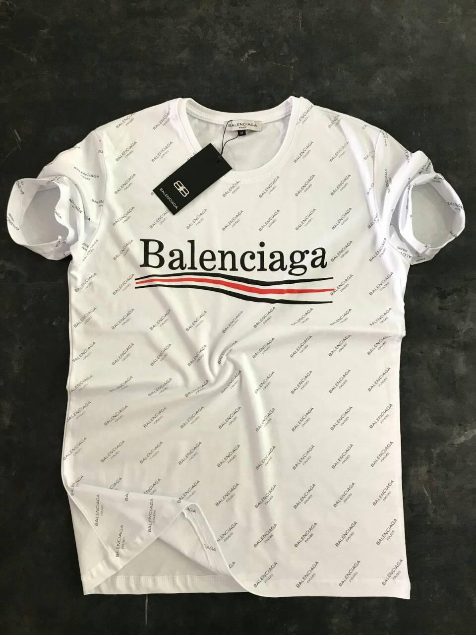 Мужская футболка Balenciaga в 3 расцветках