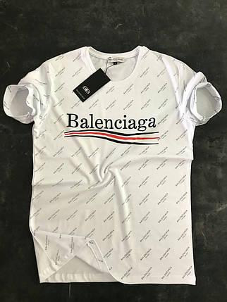 Мужская футболка Balenciaga в 3 расцветках , фото 2