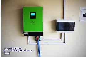 Гібридна сонячна електростанція 4 кВт с. Ременів 2