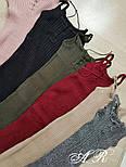 Женское стильное платье-лапша со шнуровкой (6 цветов), фото 3