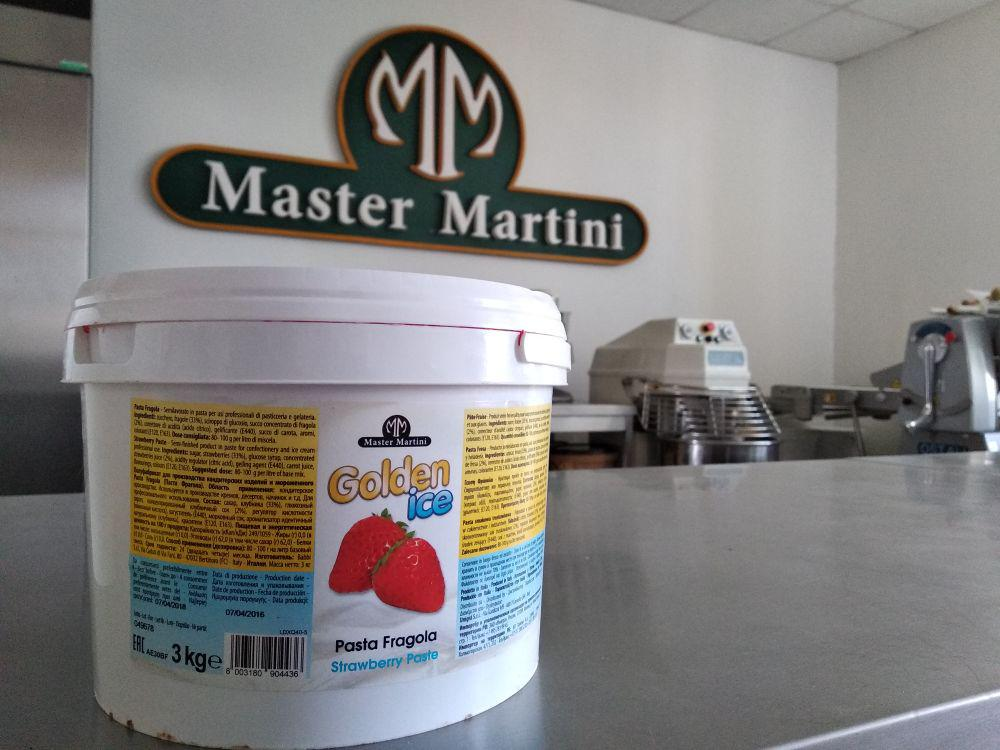 Концентрована паста Полунична 1,5 кг