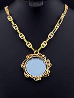 Подвеска под золото с крупным камнем Сrystal 48 см. 028707
