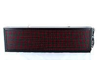 Бегущая строка 103*23 \ 100*20 Red, Красная светодиодная строка, Бегущая строка табло